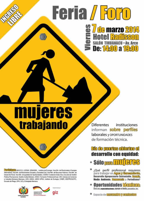 mujeres trabajando bolivia