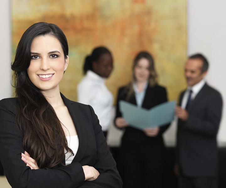 mujer lider