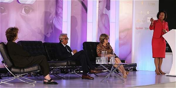 Líderes mundiales discuten sobre embarazo infantil en el segundo foro Women Working for the World./Fuente eltiempo.com