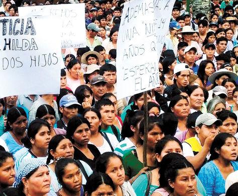 Protesta-Movilizacion-Sacaba-ultimo-feminicidio_la razon